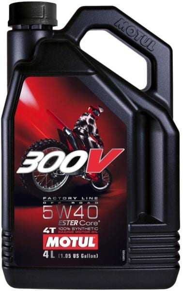 Motul 300V Factory Line Off Road 5W40 | 4L