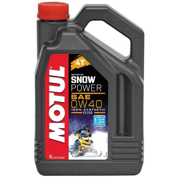 Motul Snowpower 4T 0W40 | 4L