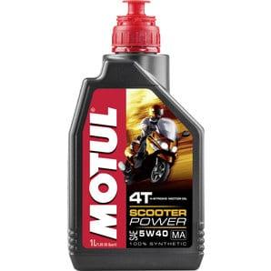 Motul Scooter Power 4T 5W40 MA | 1L