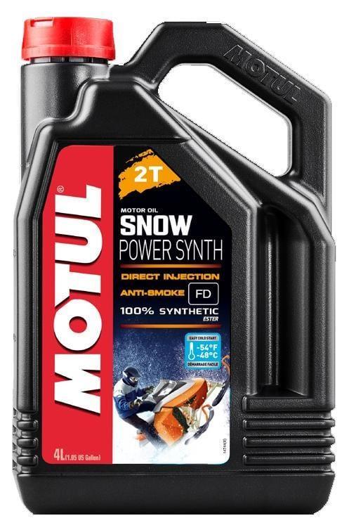 Motul Synthetic Snowpower 2T | 4L