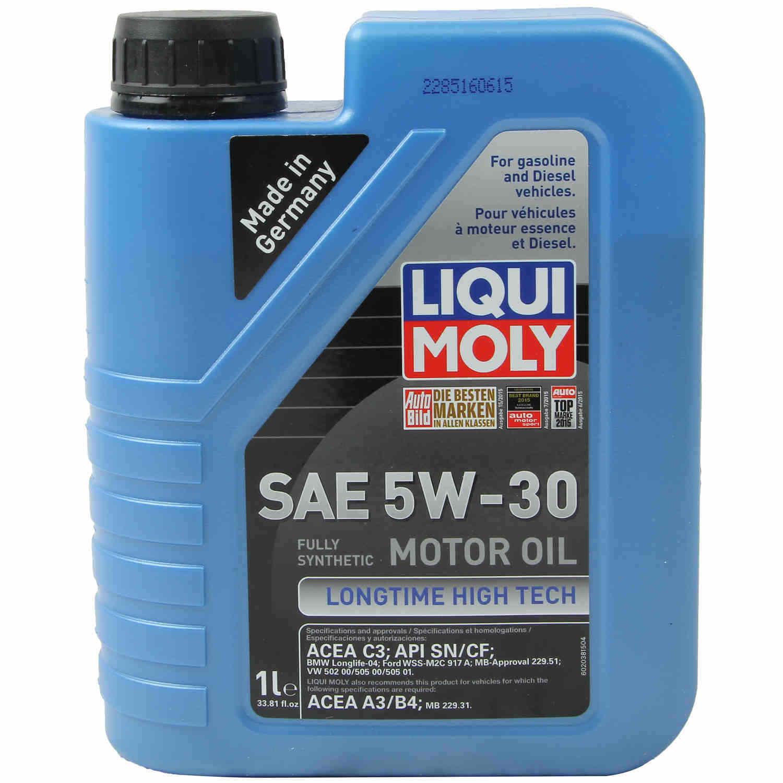 LIQUI MOLY 1L Longtime High Tech Motor Oil 5W-30