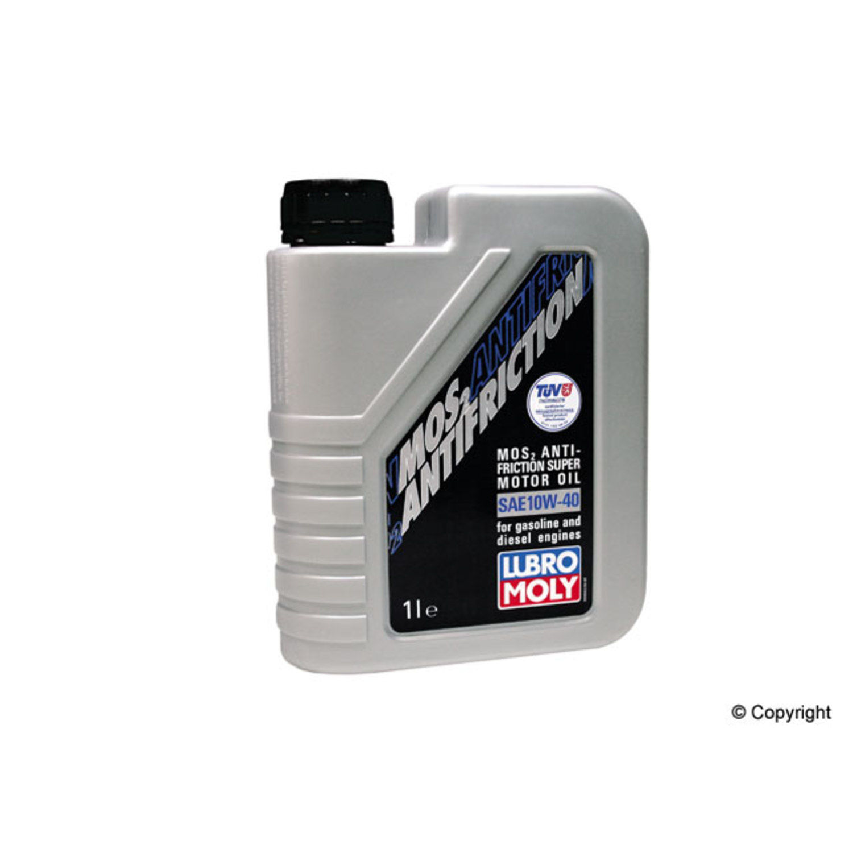 LIQUI MOLY 1L MoS2 Anti-Friction Motor Oil 10W-40