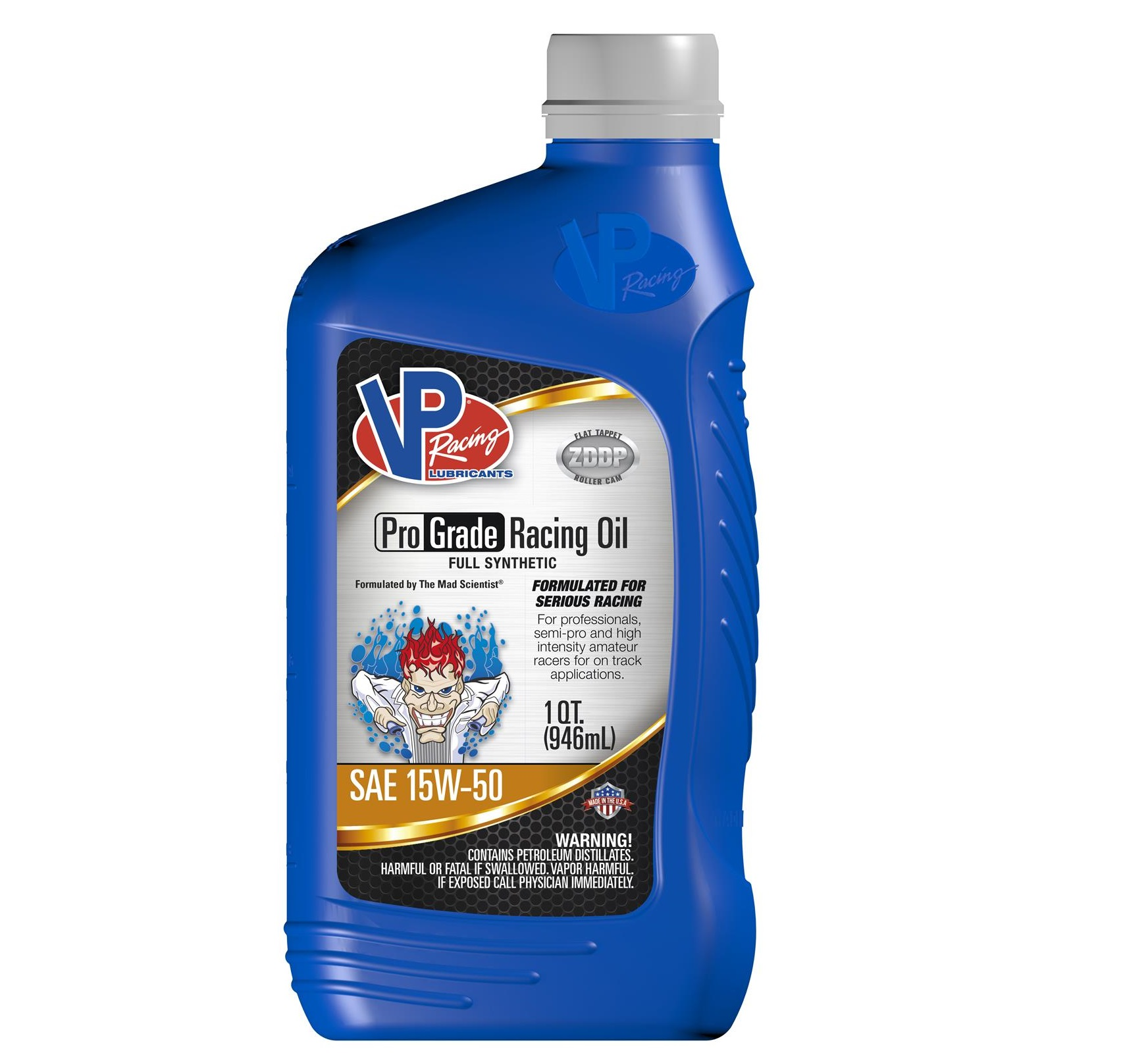 VP Racing Fuel Full SYN 15W-50 Pro Grade Racing Oil QUART