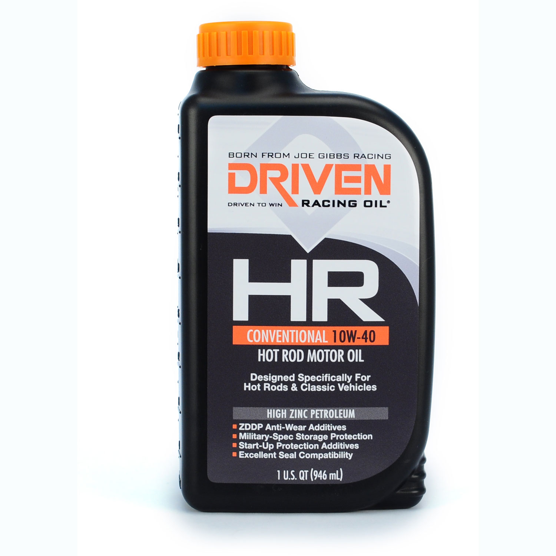 Driven Racing Oil HR High Zinc Conventional 10w-40 Quart
