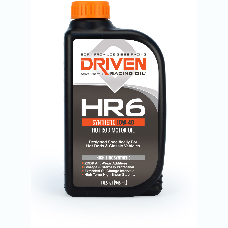 Driven Racing Oil HR High Zinc Synthetic 10w-40 Quart