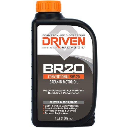 Driven Racing Oil BR20 Break In Oil Quart (5w-20)