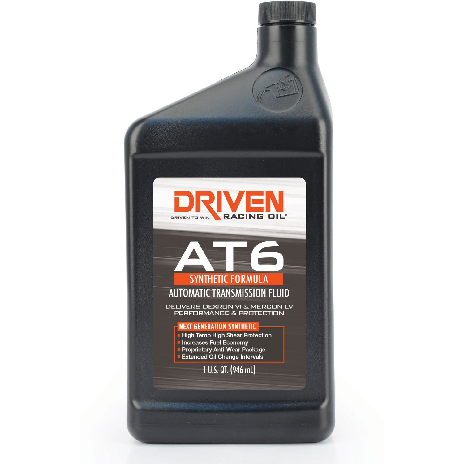 Driven Racing Oil AT6 Synthetic Dex 6 Auto. Transmission Fluid - Quart