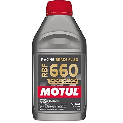 Motul 660 Factory Line Racing Brake Fluid