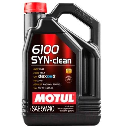 Motul 6100 SYN-CLEAN 5W40 4L