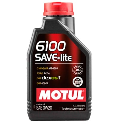 Motul 6100 SAVE-LITE 0W20 1L