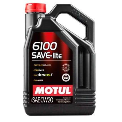 Motul 6100 SAVE-LITE 0W20 4L