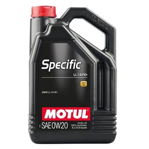Motul Specific Line Oil | LL-14 FE+ 0W20 | 5L