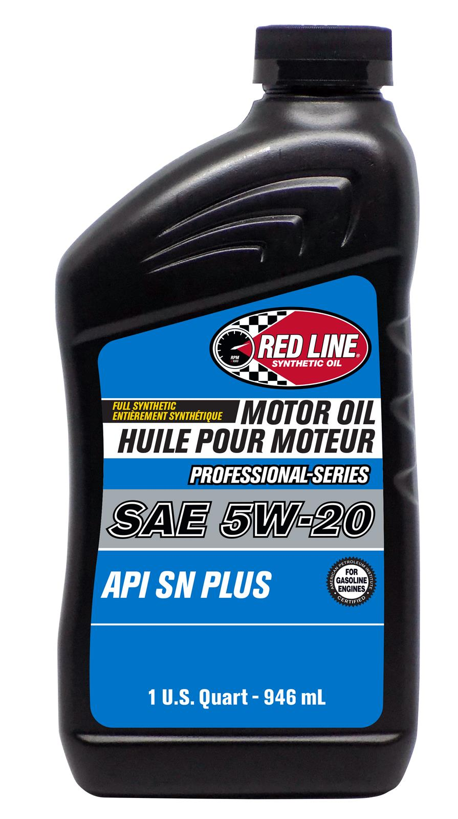Red Line Pro-Series API SN+ 5W20 Motor Oil - Quart