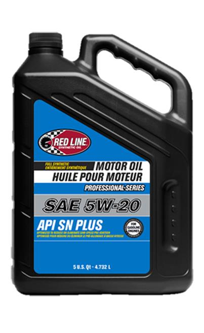 Red Line Pro-Series API SN+ 5W20 Motor Oil - 5 Quarts