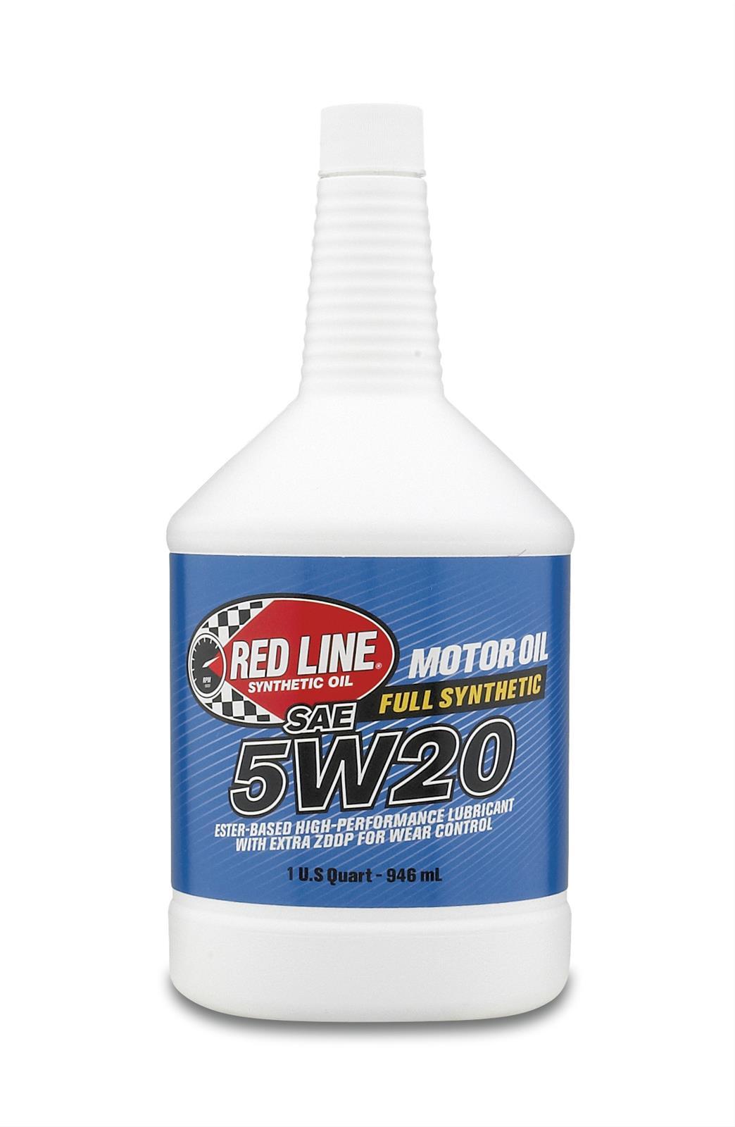 Red Line 5W20 Motor Oil Quart